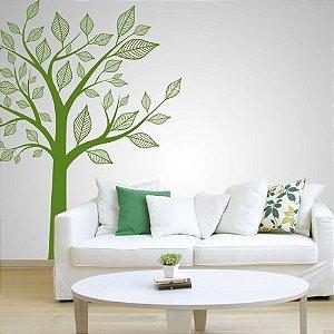 Adesivo de Parede Árvore Elegante