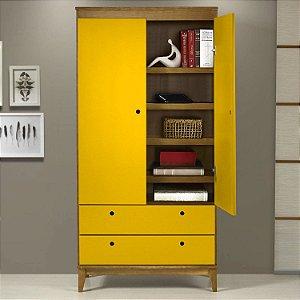 Revestimento Adesivo Vinílico Para Móveis Amarelo Ouro
