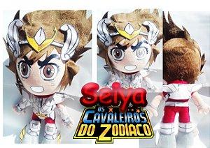 PELUCIA SEIYA CAVALEIROS DO ZODIACO