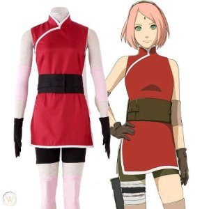 COSPLAY SAKURA HARUNO THE LAST  NARUTO MOVIE