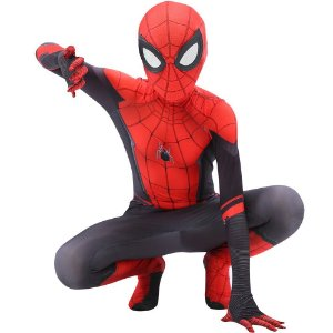 COSPLAY SPIDERMAN HOMEM ARANHA SPIDER MAN FAR FROM HOME (2019) TOM HOLLAND INFANTIL