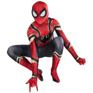 COSPLAY SPIDERMAN HOMEM ARANHA SPIDER MAN AVENGERS ENDGAME (2019) TOM HOLLAND ADULTO + FACESHELL