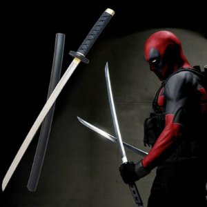 ESPADAS KATANAS COSPLAY DEADPOOL