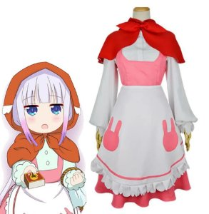 COSPLAY KANNA MAID KOBAYASHI-SAN MAID MISS DRAGON