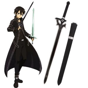 "ESPADA ""ELUCIDATOR"" COSPLAY KIRITO SWORD ART ONLINE"