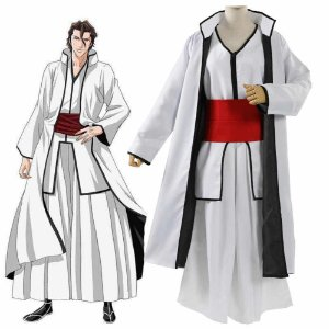 COSPLAY SOSUKE AIZEN BLEACH