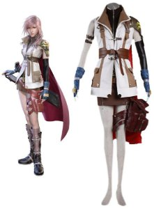 COSPLAY LIGHTNING FINAL FANTASY XIII