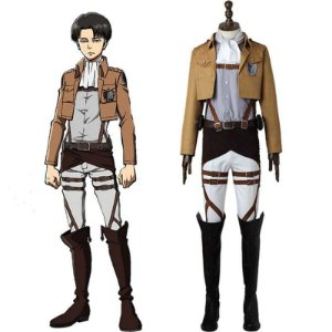 COSPLAY LEVI ACKERMAN SHINGEKI NO KYOJIN ATTACK ON TITAN