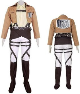 COSPLAY HANGE ZOE SHINGEKI NO KYOJIN ATTACK ON TITAN