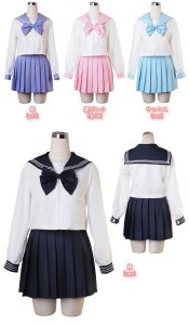UNIFORME JAPONÊS COLEGIAL SEIFUKU COLORED