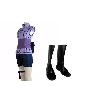 COSPLAY HINATA HYUUGA THE LAST  NARUTO MOVIE + SAPATOS