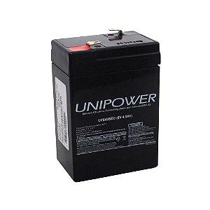 Bateria Selada Unipower - Recarregável 6V 4,5 Ah Up 645