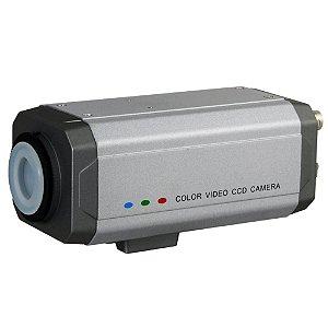 Câmera Profissional 600 Linhas Ccd Sony Com Osd e Wdr