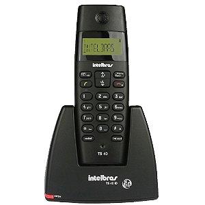 Telefone Sem Fio Intelbras Ts40 Id Dect 6.0