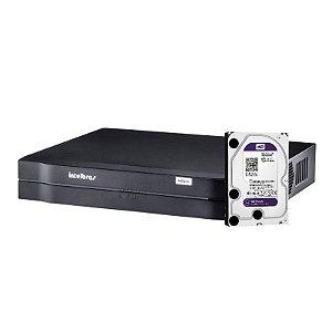 Dvr Intelbras HDCVI 4 Canais 1004 Tribrido 2ª Geração Com HD de 1 Terabyte