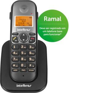 Ramal Intelbras Ts 5121 Para Telefone Sem Fio Com Viva Voz