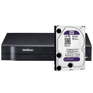 Dvr Hdcvi Intelbras 1008 2ª Geração Tribrido Com HD 1 Terabyte Purple