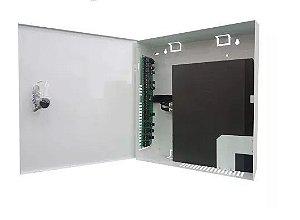 Rack Max Eletron Vertical Mini Fine Hd Híbrido 8 Canais