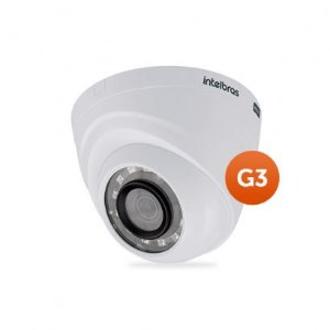 Câmera Dome Intelbras Multi HD 4 em 1 Intelbras VHD 1010D G3 - HDCVI, HDTVI, AHD, ANALÓGICO