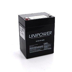 Bateria Selada Unipower - 12 Volts 5Ah Recarregável