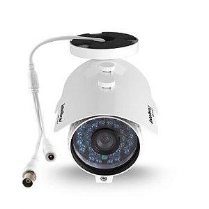 Camera Infra Intelbras Vm 3130 Ir Lente 3,6mm 30 Metros - Branca