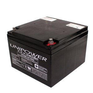 Bateria Selada Unipower 12v 26Ah Recarregável