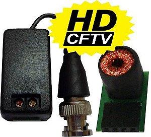 Vídeo Balun HD Híbrido Max Eletron