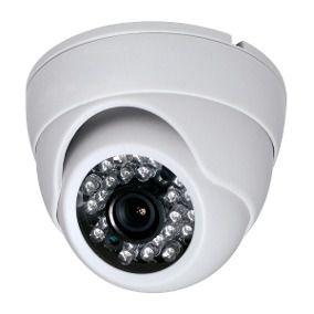 Câmera Ahd 720p Dome 1.3 Megapixel 24 Leds 25 Metros