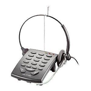 Telefone Headset Felitron S8010 Black VG Com Fone Stile Voice Guide