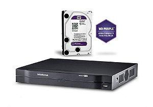 Dvr Multi HD Intelbras 16 Canais Mhdx 1016 Com Hd 2 Terabyte