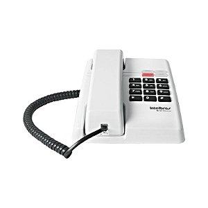 Telefone Com Fio Intelbras Tc50 Premium Cinza Ártico Com Led