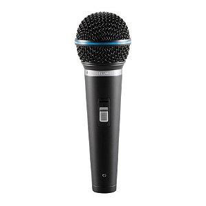 Kit Microfone Dinâmico Profissional + Cachimbo + 5 Metros De Cabo