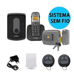 Kit Interfone Tis 5010 E Fechadura Sem Fio