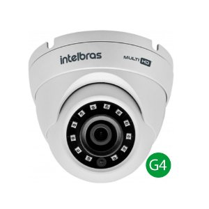 Camera HDCVI Intelbras Multi HD Vhd 3120D Lente 2.6 Mm 20 Metros 4ª Geração