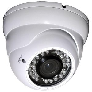 Câmera de Segurança Anti-Furto Ir112 Lente Varifocal 36 Leds e Wdr