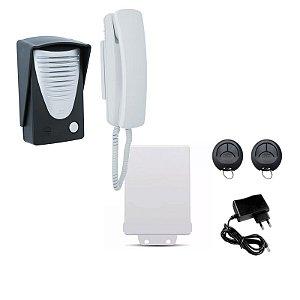 Kit Interfone Residencial Com Abertura Sem Fio