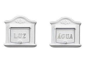 Kit Visor De Luz E Visor De Água Alumino Fundido