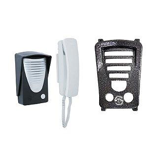 Kit Porteiro Eletrônico RCG Interfone + Proteção