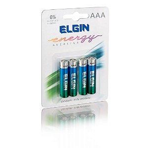 Pilha Alcalina AAA 82155 Elgin