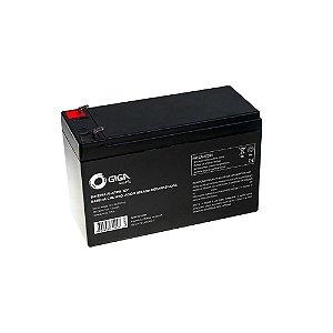 Bateria 12v 7a Selada Para Nobreak Alarmes Cerca Elétrica GIGA
