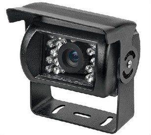Câmera Veicular Infravermelho Telvision VE-100 Ccd Sony 18 Leds 15 Metros