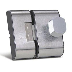 Fechadura Porta De Vidro Hdl Pv90 2f Inox