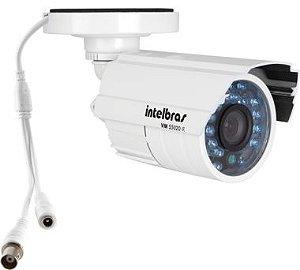 Câmera de Segurança Intelbras Vm S5020 Lente 3,6mm 600 Linhas 25 Metros Branca