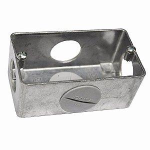 "Condulete Em Alumínio Múltiplo 1/2"" 15mm"