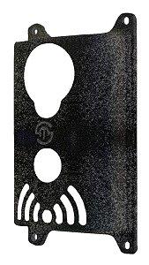 Proteção Para Modulo Externo Intelbras Ipr 8000 / Iv 7000 Preto