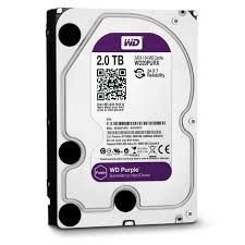 Hd - Disco Rígido Interno 2 TB Western Digital Purple WD20PURZ