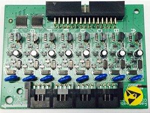 Placa De 8 Ramais Desbalanceada Intelbras Comunic 48