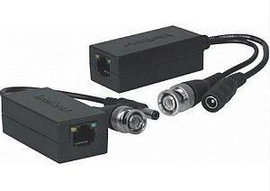 Vídeo Balun Passivo HDCVI Par Intelbras Xbp 502a