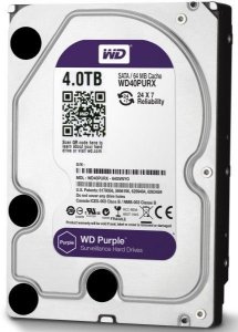 HD Western Digital Purple  4TB SATA III 5400 RPM WD40PURZ