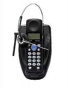 Kit Telefone Longa Distancia Maxtel Sf 902 Com Headset Felitron